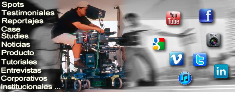 Producción de Vídeo contenidos para la web